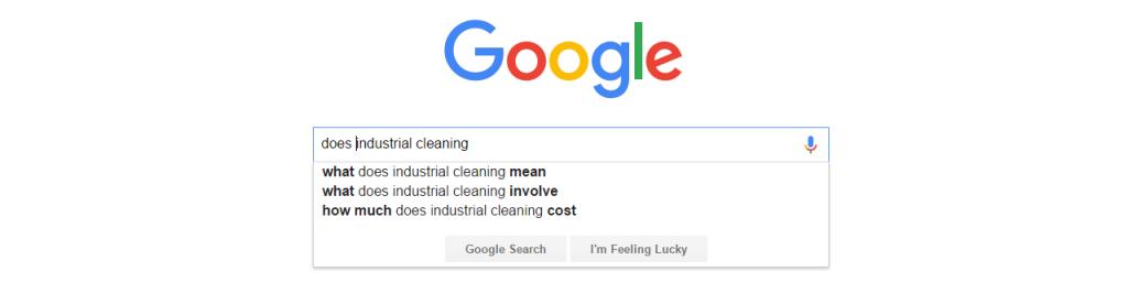 GoogleDoesIndustrialCleaning
