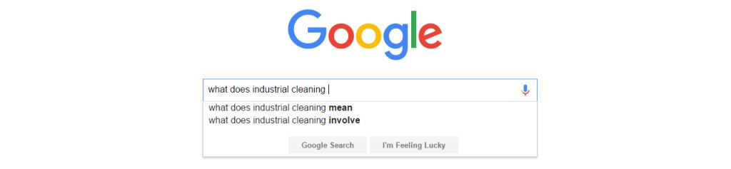 GoogleWhatDoesIndustrialCleaning