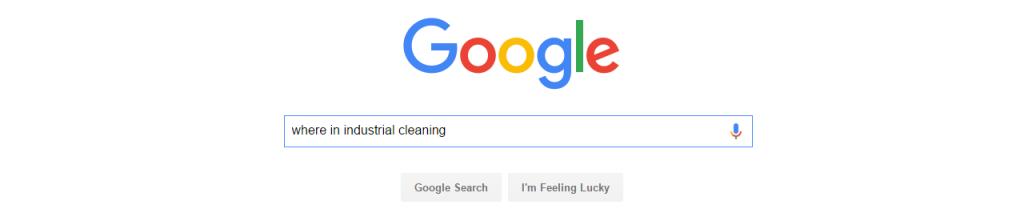 GoogleWhereInIndustrialCleaning