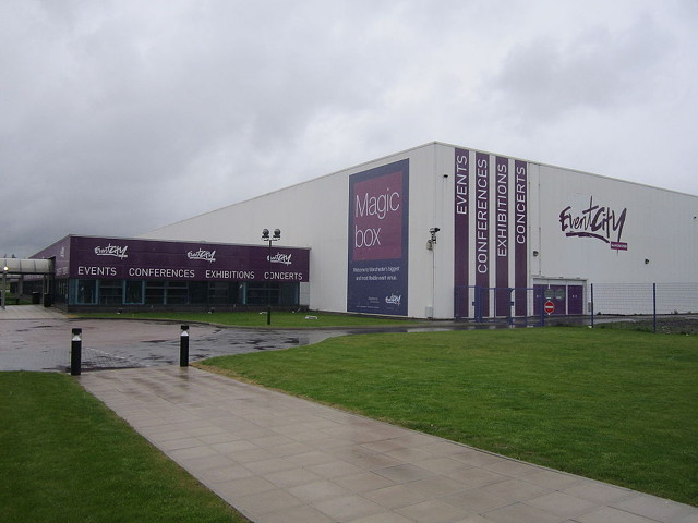 EventCity, Trafford Park: the Manchester Cleaning Show venue.