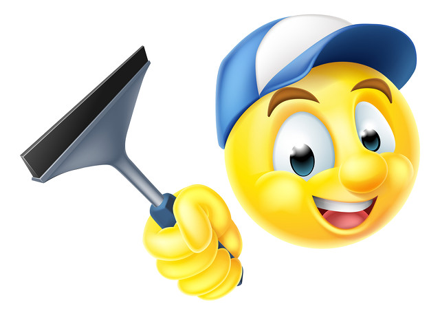 Window Cleaner Emoji image by Christos Georghiou (via Shutterstock).
