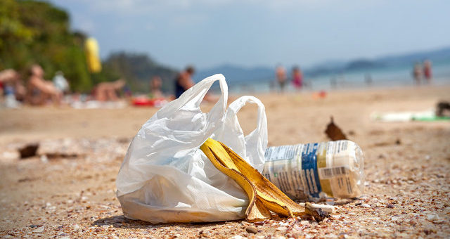 English Plastic Bag Use Plunges 85%