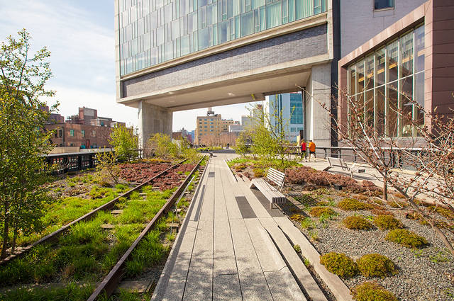 High Line Corridor NYC image
