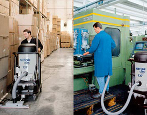 Industrial Vacuums in Action