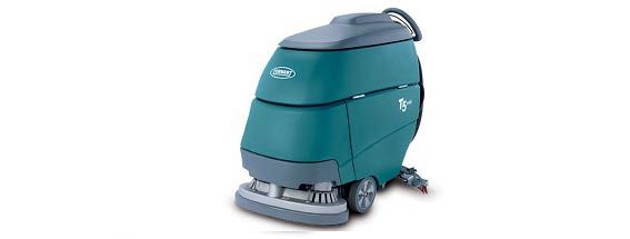A Tennant scrubber sweeper.