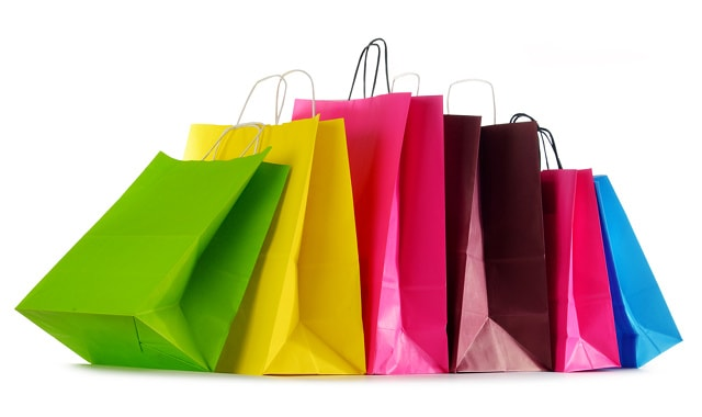 Carrier bags by Monticello (via Shutterstock).