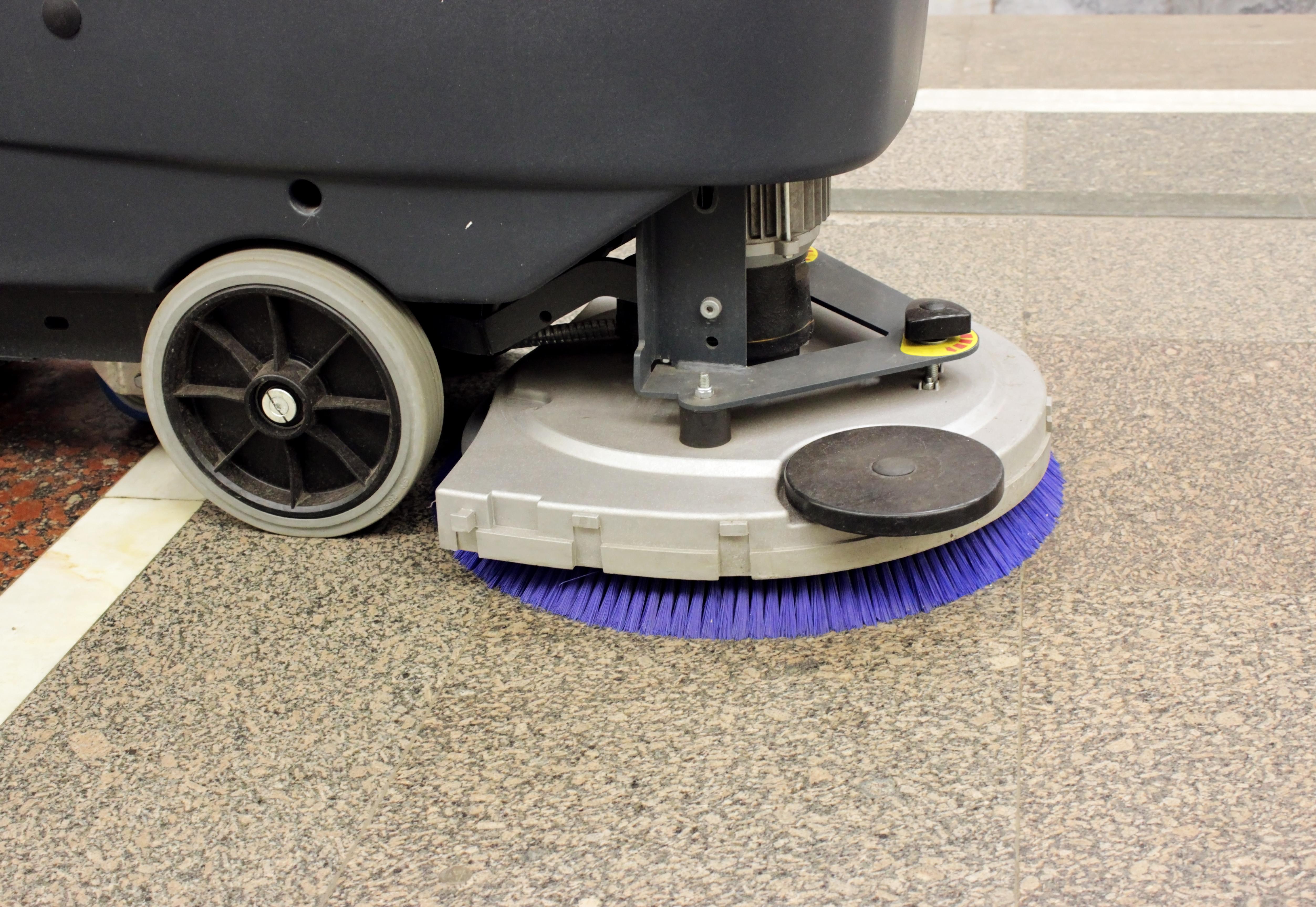 scrubber dryer