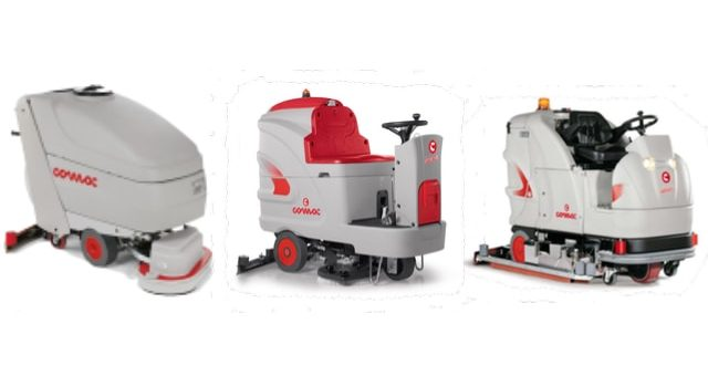 Scrubber Dryers Compete for New Cleaning Contract