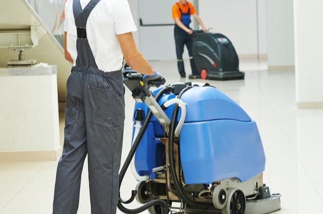 used industrial floor cleaning machines