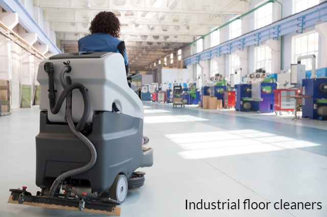 industrial floor cleaners
