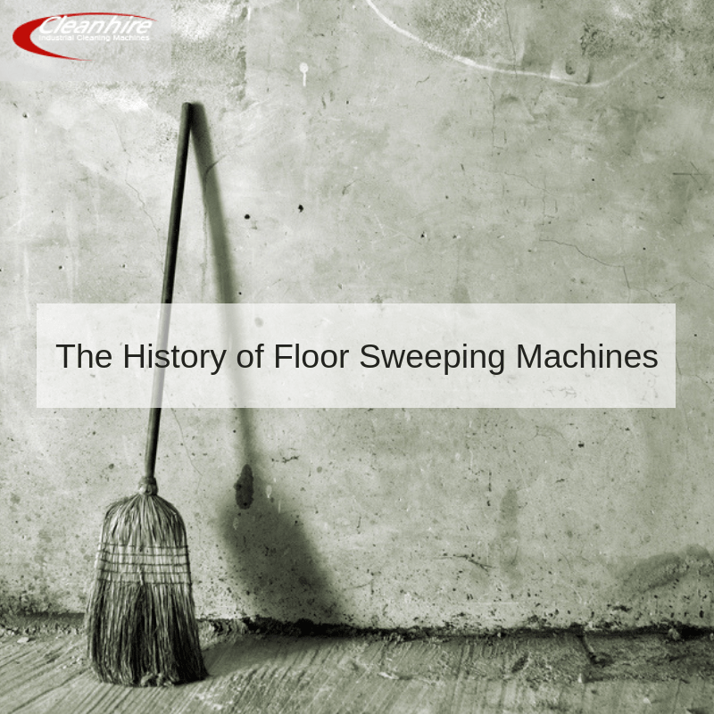 The History of Floor Sweeping Machines