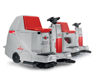 Comac CS60 Ride On Sweeper