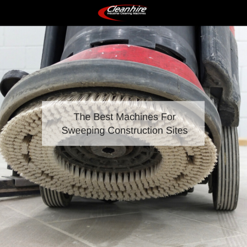 The Best Machines For Sweeping Construction Sites