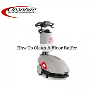 cleaning scrubber dryer